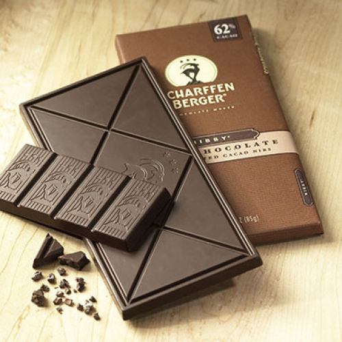 62% NIBBY® Dark Chocolate with Roasted Cacao Nibs